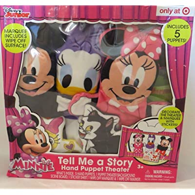 Disney Minnie Tell Me a Story - Hand Puppet Theater: Toys & Games