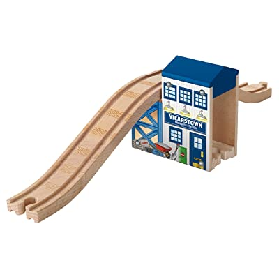 Fisher-Price Thomas & Friends Wooden Railway, Over and Under Bridge: Toys & Games