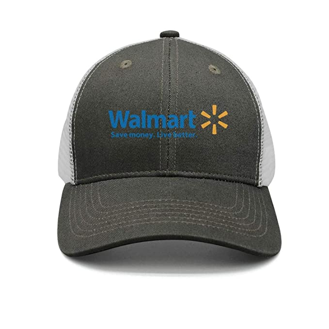 617744673 UONDLWHER Adjustable Unisex Walmart-Supermarket-Logo- Cap Plain Baseball Hat