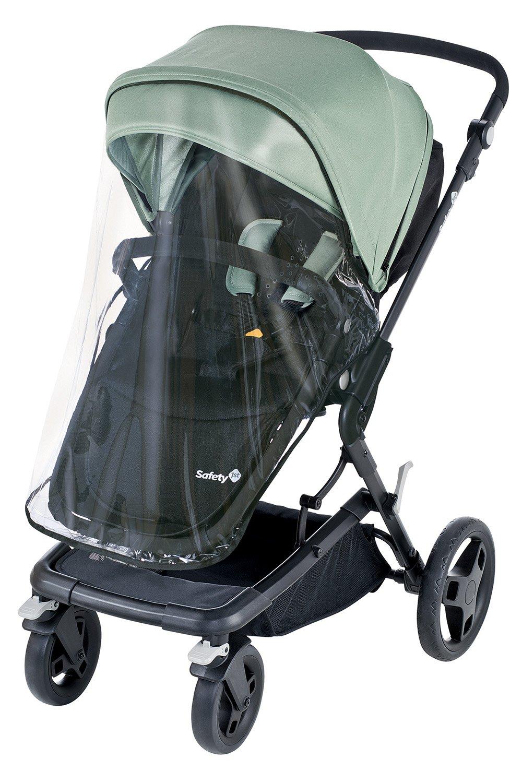 full black Safety 1st Kokoon Comfort 2-in-1 Kombikinderwagen-Set