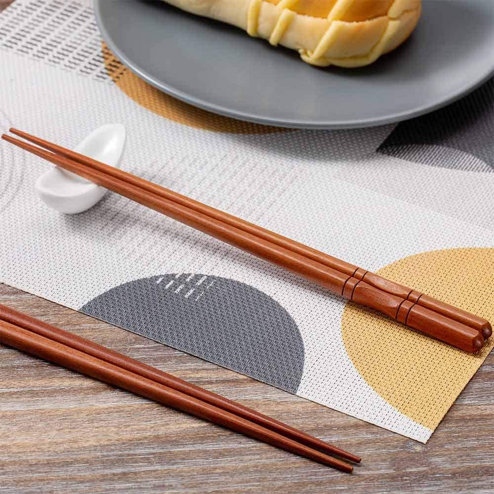 5 PCS Metal Chopsticks Stainless Steel Chopsticks Reusable Lightweight Chopsticks Dishwasher Safe Japanese Chinese Chop Sticks Pack Washable Chopsticks Korean for Sushi Noodles Rice Dinner