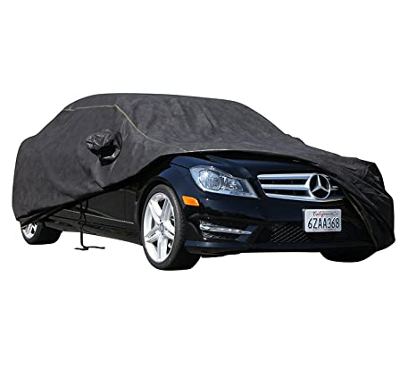 2015 CHEVROLET TAHOE Breathable Car Cover w//Mirror Pockets Black
