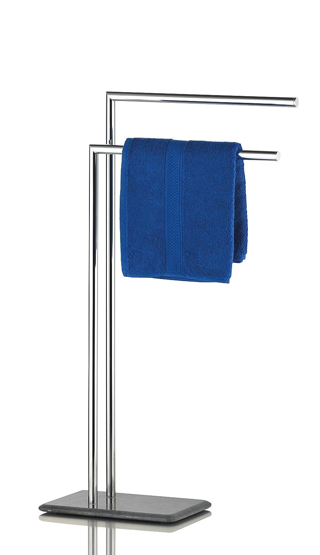Handtuchhalter chrom Handtuchstangen mit 2 Armen und