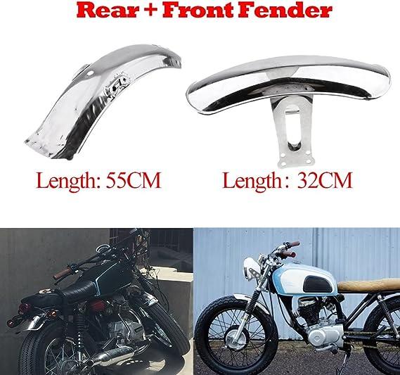 Schwarz Almencla Motorrad Vorne Kotfl/ügel Schutzblech Spritzschutz f/ür Honda Hornet CB600 CB600F Series