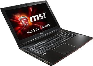 """MSI GP62 Leopard Pro-002 Gaming Laptop (Windows 8.1, Intel Core i7-5700HQ, 15.6"""" LED-lit Screen, Storage: 1 TB, RAM: 8 GB) Leopard Pro"""