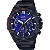 EDIFICE Men's Automatic Wrist Watch chronograph Display and Stainless Steel Strap, EFR563TR-2A