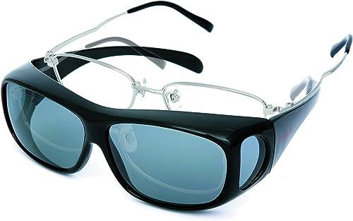 コールマン(Coleman) メガネの上からかけられる偏光サングラス オーバーグラス
