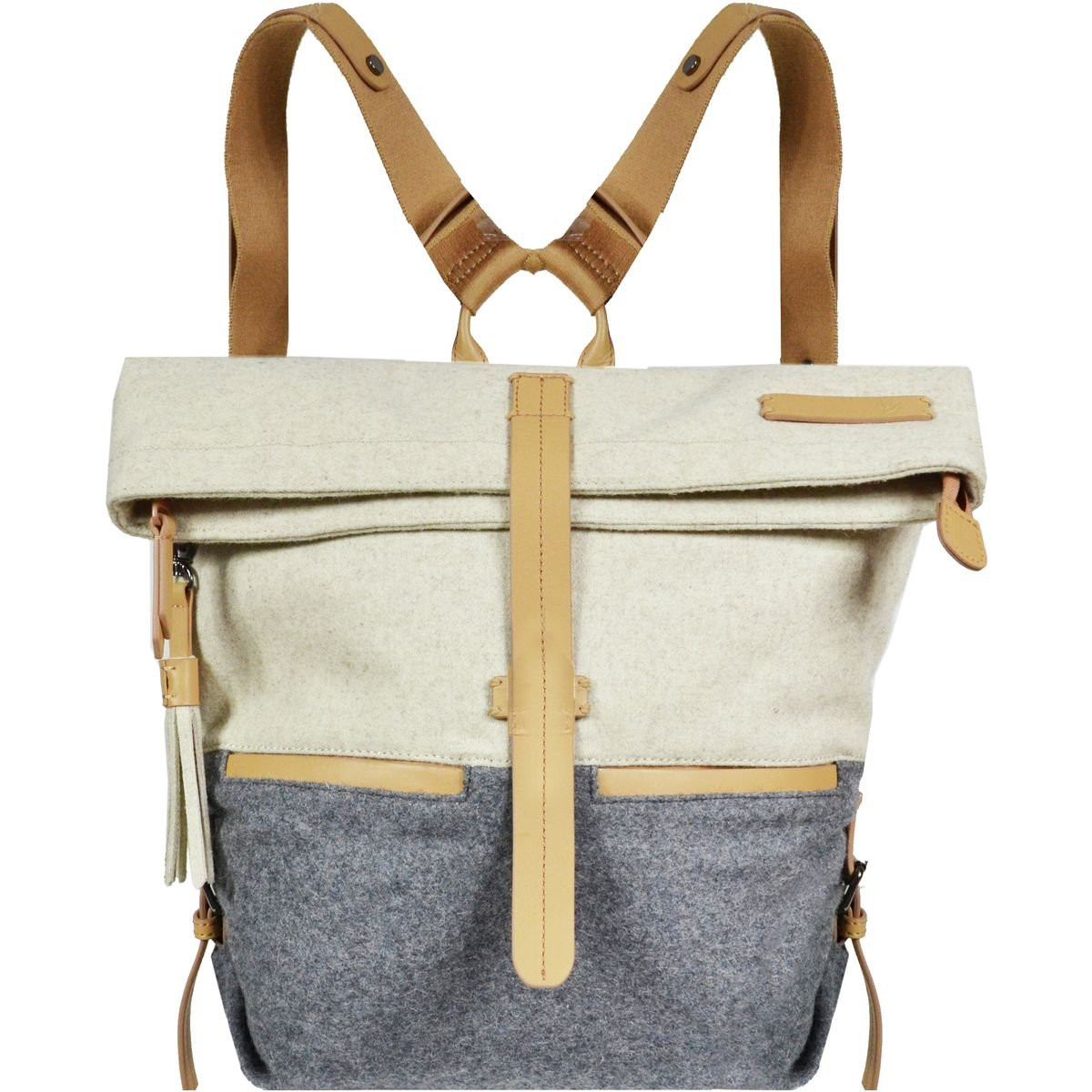Sherpani Amelia Travel Backpack, One Size, Buff/Chai