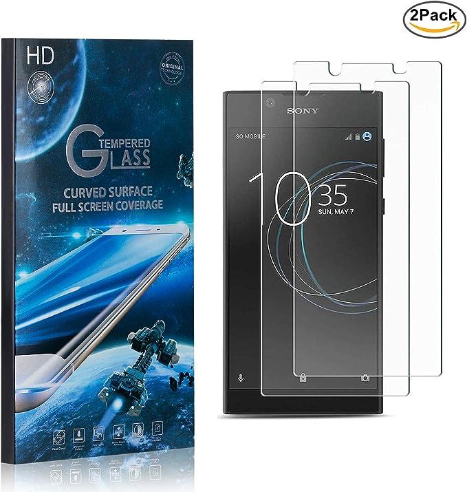 NBKASE Galaxy A40 Verre Tremp/é Installation Facile Sans Bulles Ultra Claire Film Protection /Écran pour Samsung Galaxy A40 Anti Rayures 2 Pi/èces
