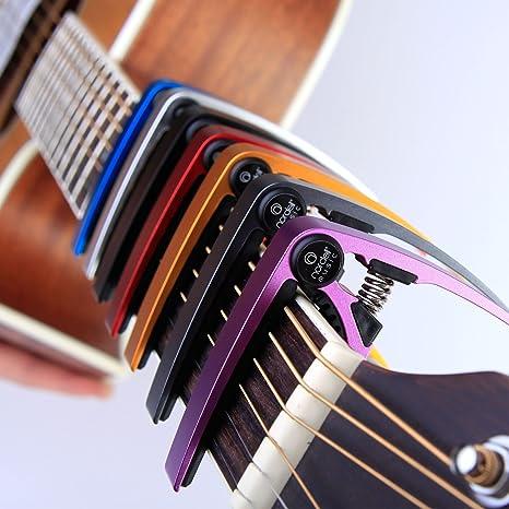 Nordell Pro Trigger - gatillo para guitarra/ukelele Acústica/eléctrica, de liberación y cambio rápido, verde: Amazon.es: Instrumentos musicales