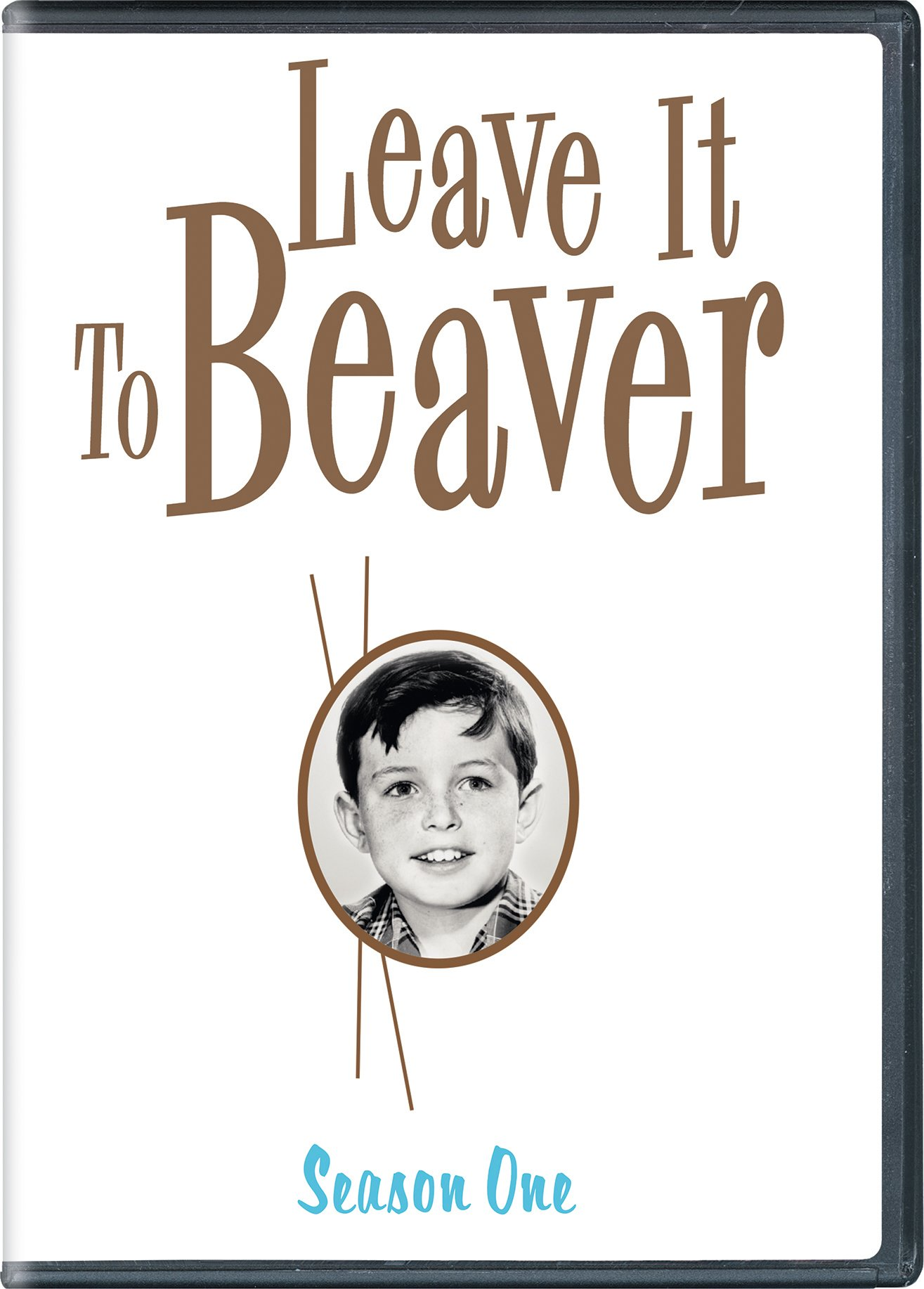 DVD : Leave It to Beaver: Season One (Boxed Set, Snap Case, Repackaged, 6 Disc)