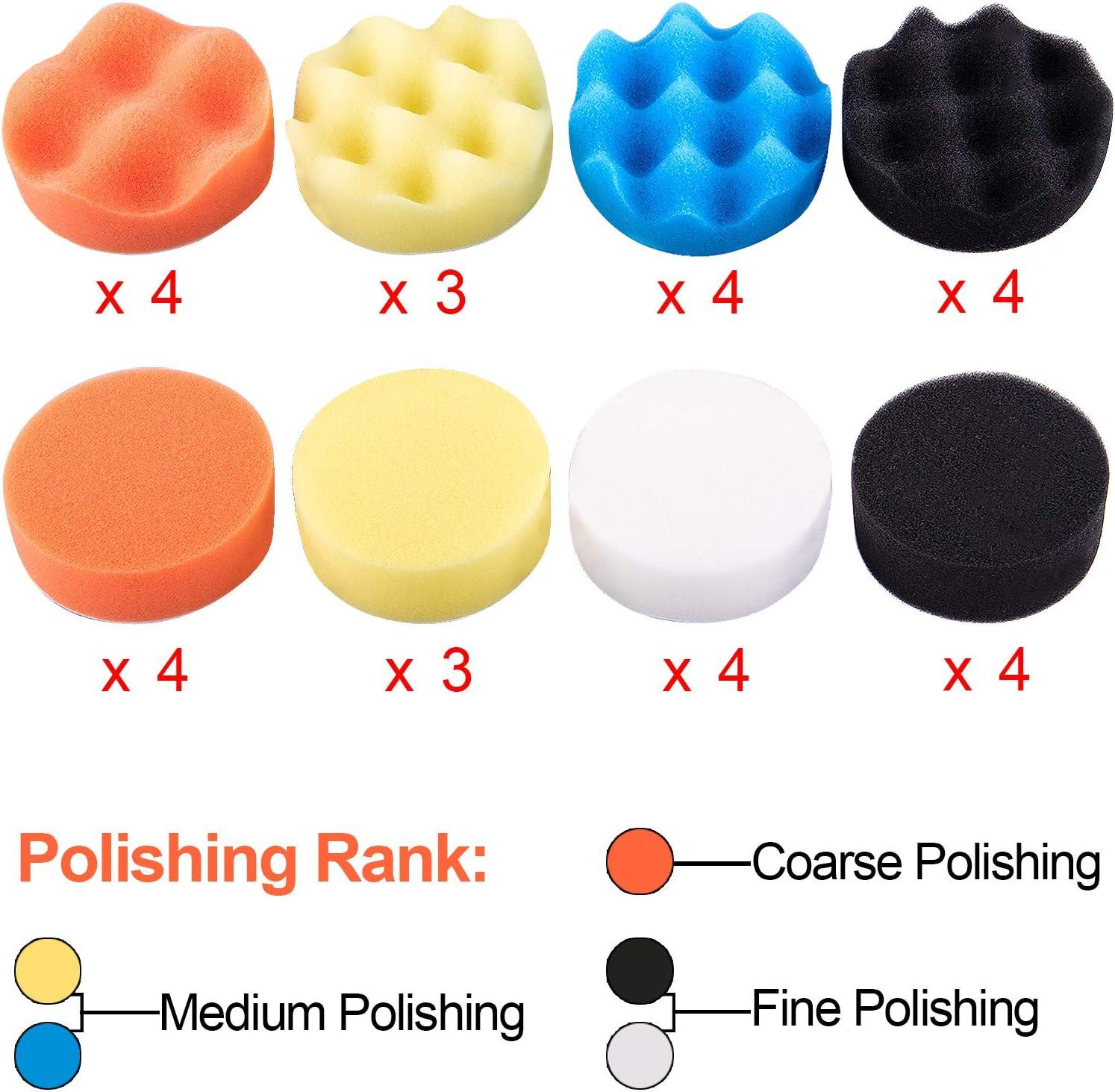car polishing kit for drill