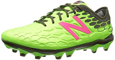6d76eba99b79 New Balance Men's Visaro 2.0 Pro FG, Energy Lime/Dark Military Triumph, 6.5