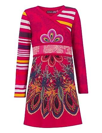Silene Fille Desigual À Robe Fleurs BoQrCxeEWd