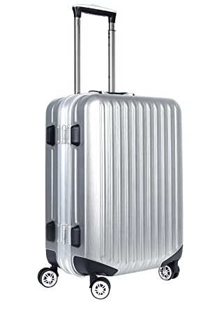 22d9b49889ca Viagdo Luggage Carry-On Luggage HardSide Suitcases Hard Shell Lightweight  Spinner Luggage 21 Inches