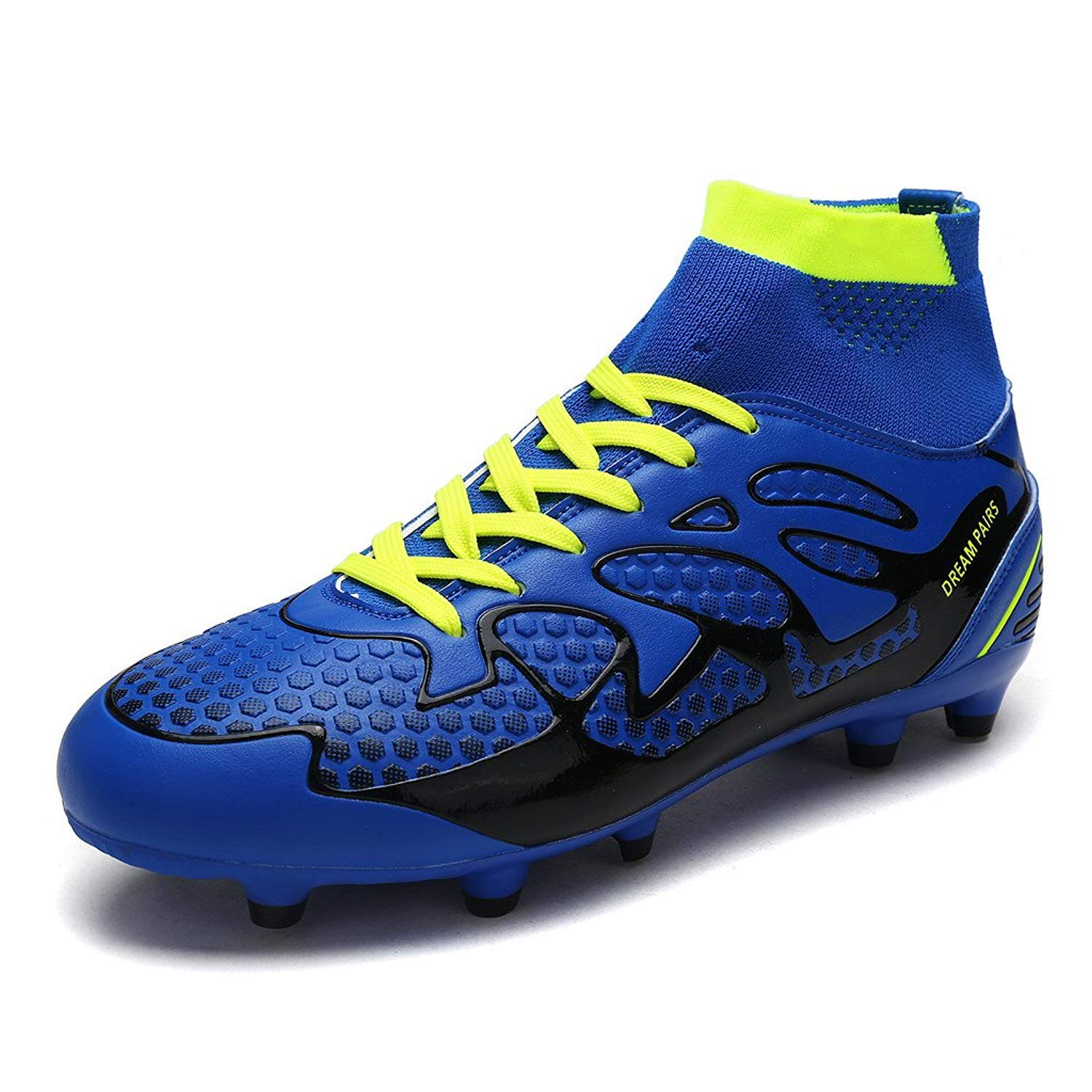 DREAM PAIRS Boys & Girls Toddler/Little Kid/Big Kid 160858-K Fashion Soccer Football Cleats Shoes