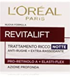 L'Oréal Paris Revitalift Crema Viso Anti-Rughe Notte, 50 ml