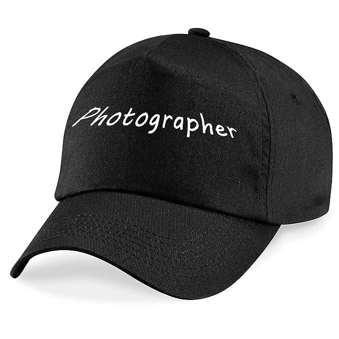 Gorra de béisbol con inscripción en inglés (Photographer): Amazon ...