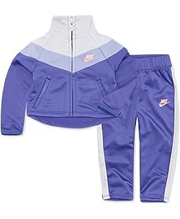 ec2710c669 Nike Little Girls` Therma-Fit Full Zip Hoodie & Jogging Pants 2 Piece Set