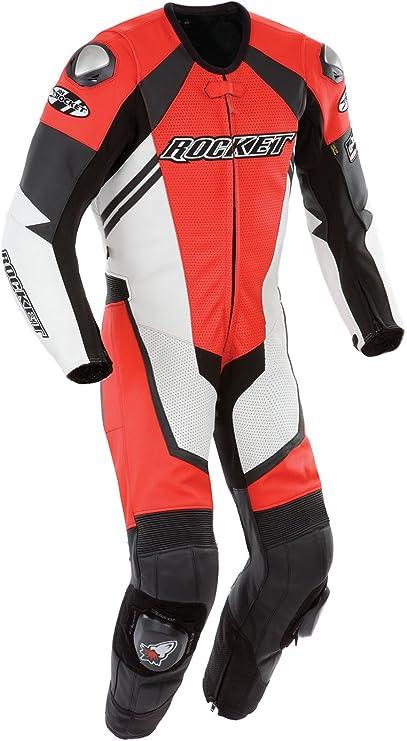 Joe Rocket Speedmaster 6.0 Mens One-Piece Motorcycle Race Suit (Black/Black/Black, Size 40)