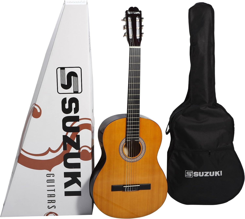 Suzuki SCG2+3/4NL - Guitarra clásica cadete, beis: Amazon.es ...