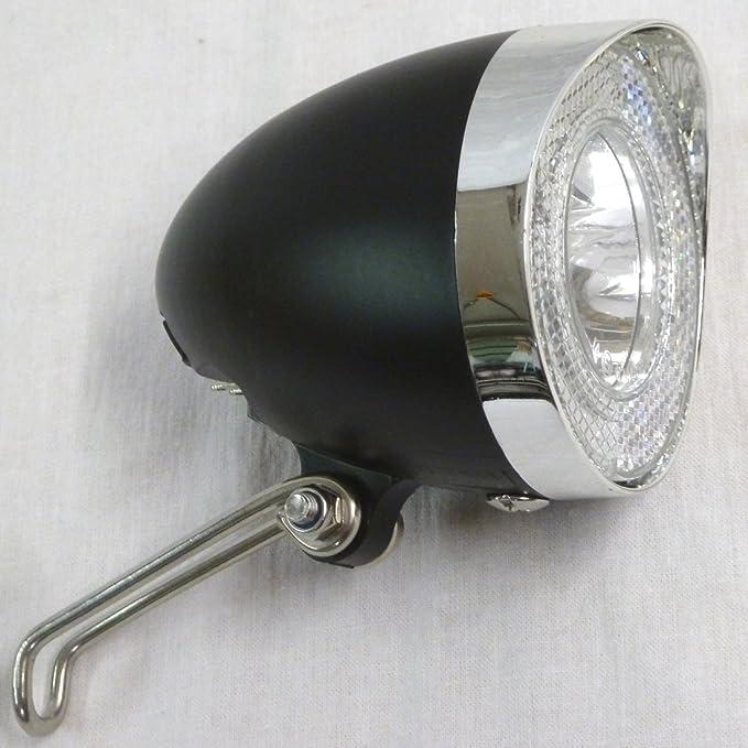 Fahrrad Beleuchtung Set kpl Dynamo Frontlampe Rücklicht Lampe Licht mit Halter