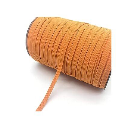 Black 5yards//lot 1//4 6mm Elastic Ribbon Multirole Thickening Satin Elastic Band Trim Sewing Spandex Lace Trim