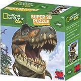 National Geographic NG10808 Kids Super Tyrannosaurus Rex 3D Puzzle (150-Piece)
