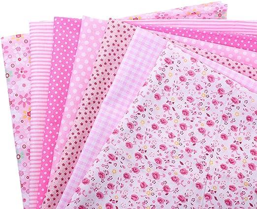 Juego de 7 telas de algodón de Shujin, para coser, de patchwork ...