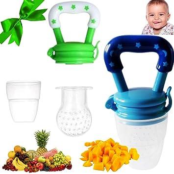 Amazon.com: Bebé alimentos frescos alimentador para Solid ...