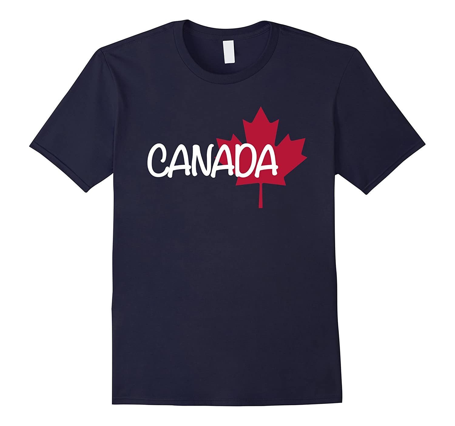 Canada with maple leaf T-Shirt-CL