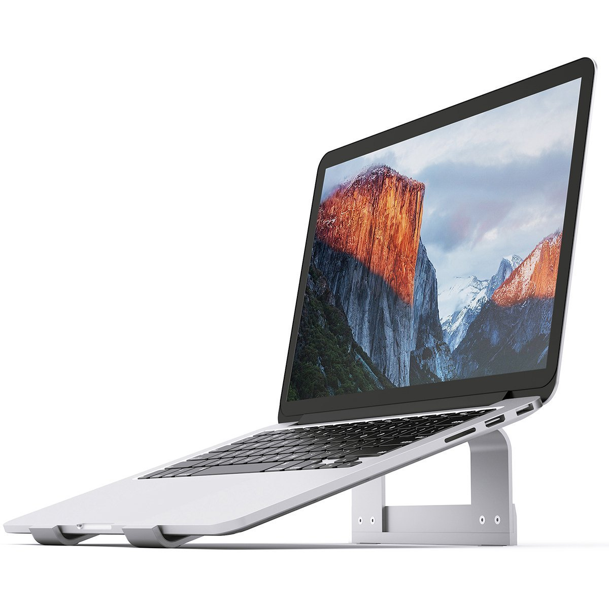 Laptop Stand OBA Aluminum Ventilated Stand UPDATE VERSION - Ergonomic Riser Portable Holder for Macbook Pro, All Notebooks
