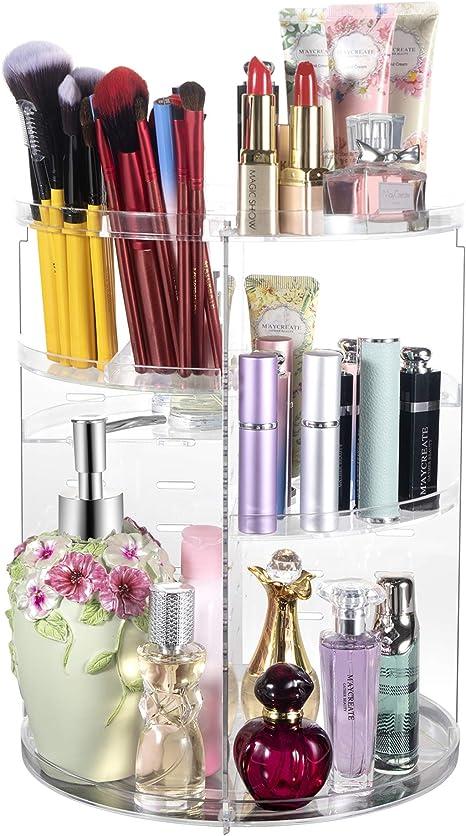 Tamaño Mediano Maquillaje Almacenamiento Para IDesign Organizador de Maquillaje con 14 compartimentos