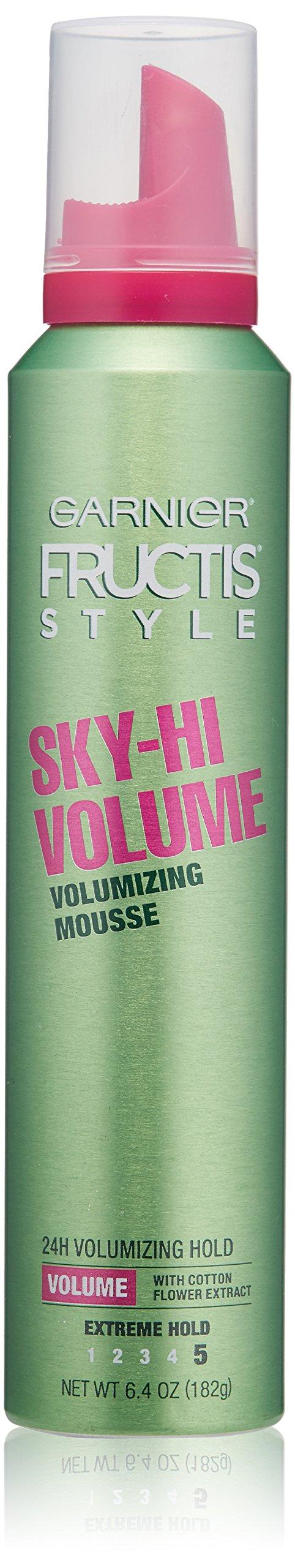 Garnier Fructis Style Sky-Hi Volume Mousse, Extreme Hold 6.40 oz