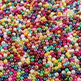 1500pcs 4mm mixed colored beads perlen basteln for Artificial Pearls Suitable Imitation Pearl for Jewellery Making and DIY Necklace Bracelet Children