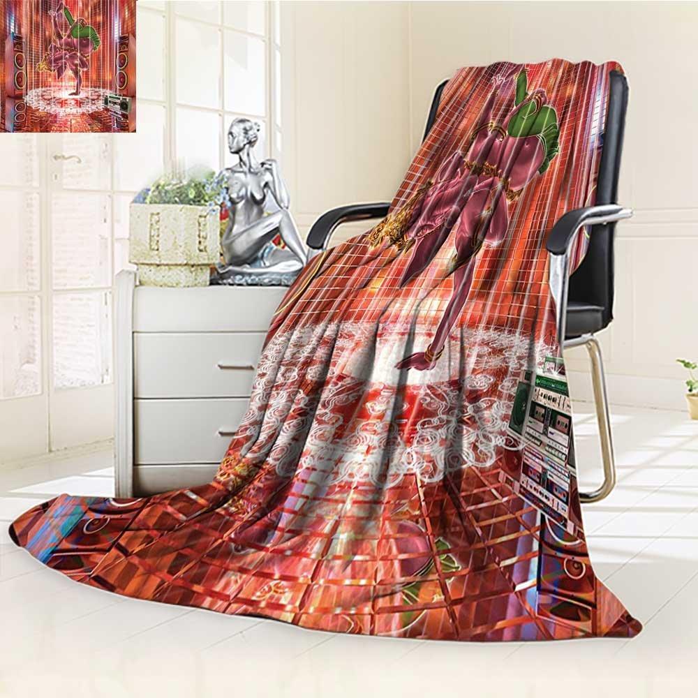 AmaPark Digital Printing Blanket God Dancing Rocking The Dance Floor with its Meditating Moves Print Summer Quilt Comforter