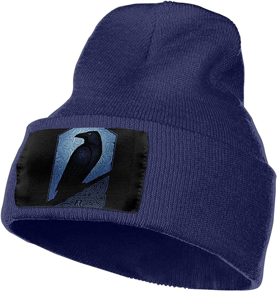 Crow Unisex Stylish Kintted Beanie Hat Skull Headwear Cap