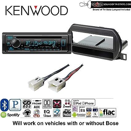 Amazon com: Kenwood KDCX303 Radio Install Kit with Bluetooth