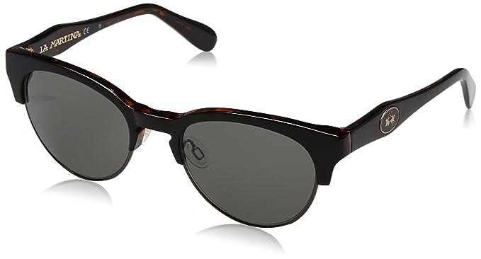 3dd7fec6fe La Martina LM-51501, Montures de lunettes Homme, Noir (Black/Tortoise