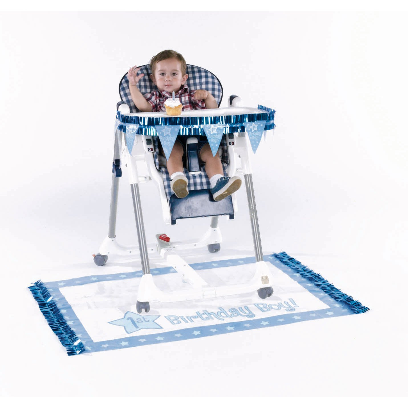 Amazon One Special Boy 1st Birthday High Chair Decorating Set Toys Games