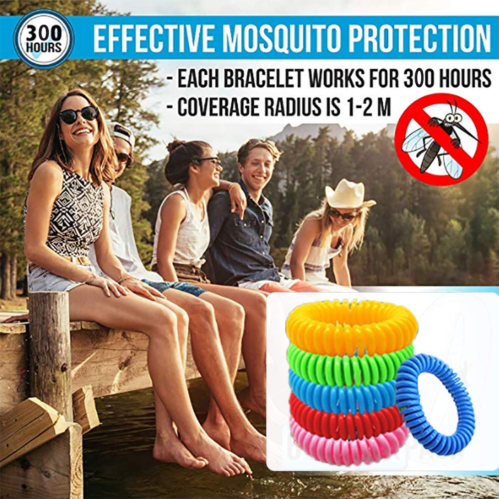 MO Mosquito Repellent Bracelet (red01) by MO