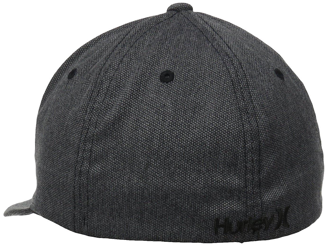 30b6157ba3198 Amazon.com  Hurley Men s Black Suits Flexfit Hat  Clothing