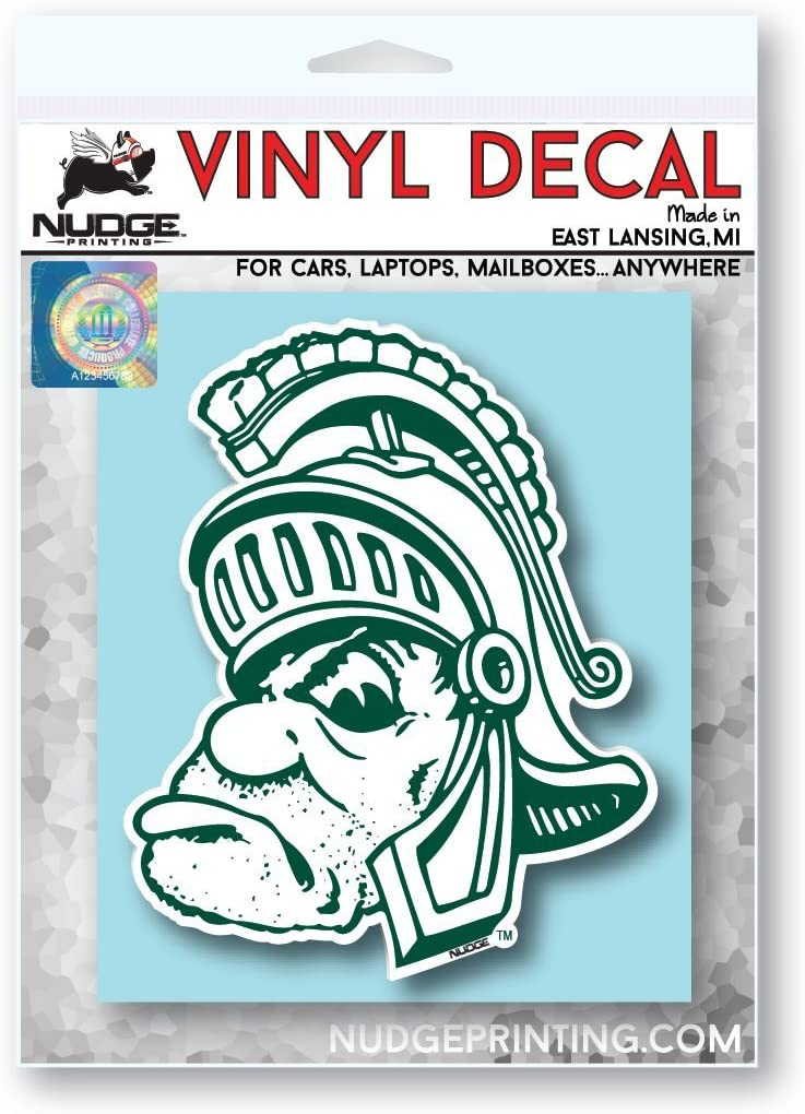 Nudge Printing NCAA Vintage Popular Car Decals from