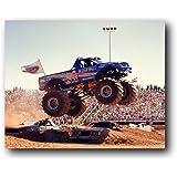 Bigfoot Monster Truck: Wall Decor Art Print Poster (16x20)