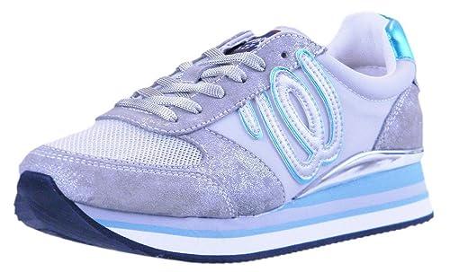 Wrangler Shoes MOD.Jungle Sneaker Donna (Silver): Amazon.it ...