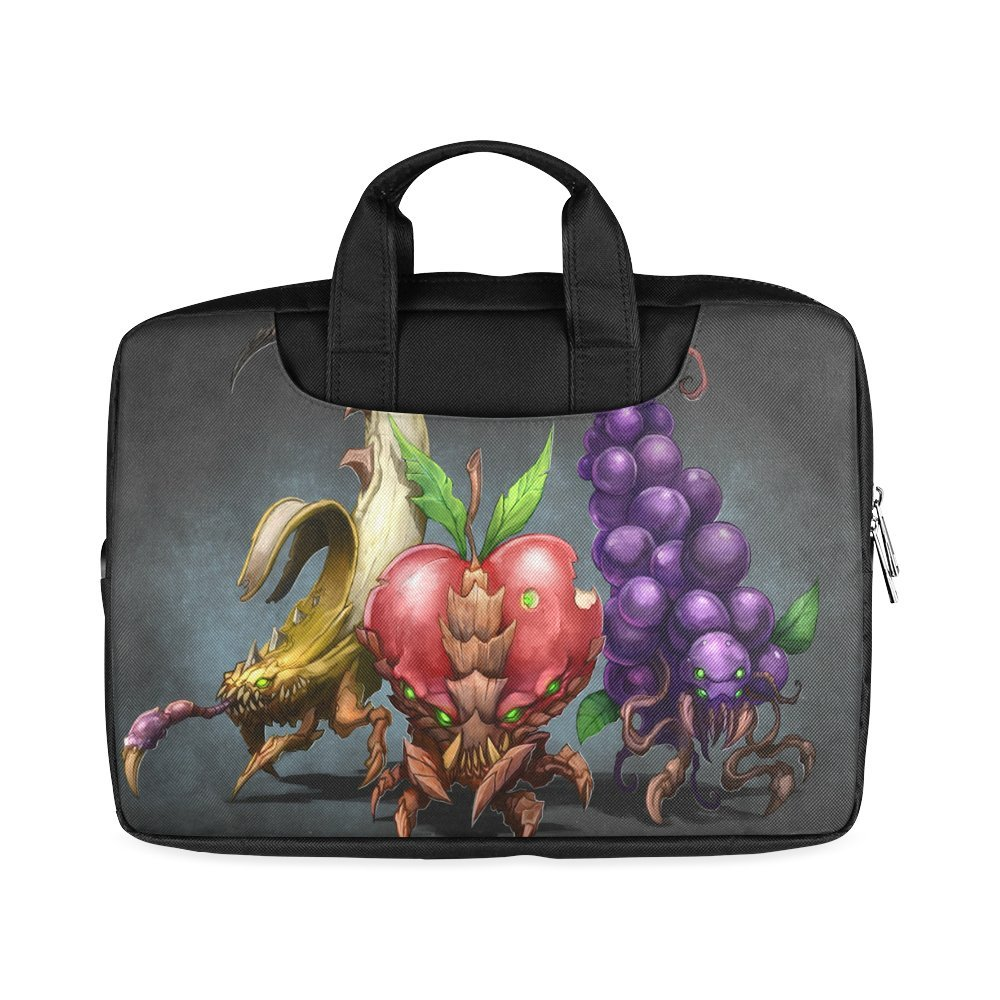 b3b0655033 Amazon.com  Laptop Notebook Fruit Grapes and Apple Banana Handle Sleeve Bag  Case Cover for 13 inches MacBook Pro(Twin Sides Printing)  Computers   ...