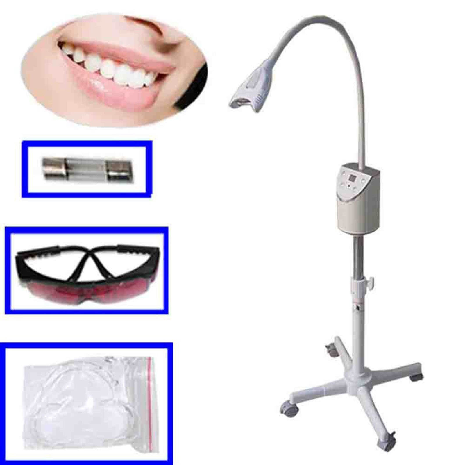 AnHua Brand New Generic Led Light Accelerator Mobile Dental Teeth Bleaching Whitening Machine