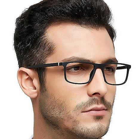 85f43f737fe9 Optical Men s Eyewear Classic Non-prescription Eyeglasses (Black)   Amazon.ca  Luggage   Bags