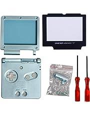 Timorn Écran Complet de logement Shell Case Cover + Protector Partie + Tri-Wing + Croix Tournevis réparation pour Nintendo Gameboy Advance SP GBA SP