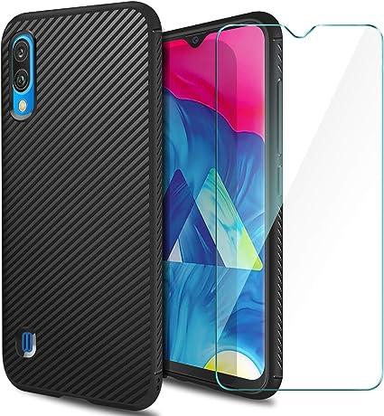 AROYI Funda Samsung Galaxy A10 Silicona & Protector Pantalla ...